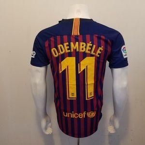 Other - DEMBÉLÉ FC BARCELONA HOME FAN JERSEY